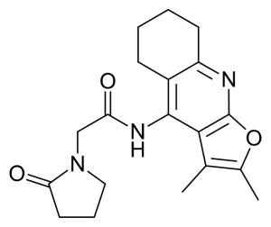 coluracetam chemical structure