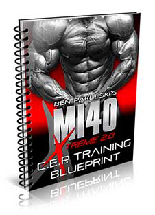 Mi40X Workout Sheets