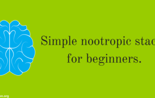 simple nootropic stacks for newbies